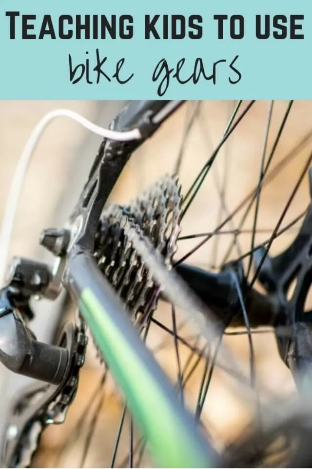 Learning to use bike gears - bubbablue and me