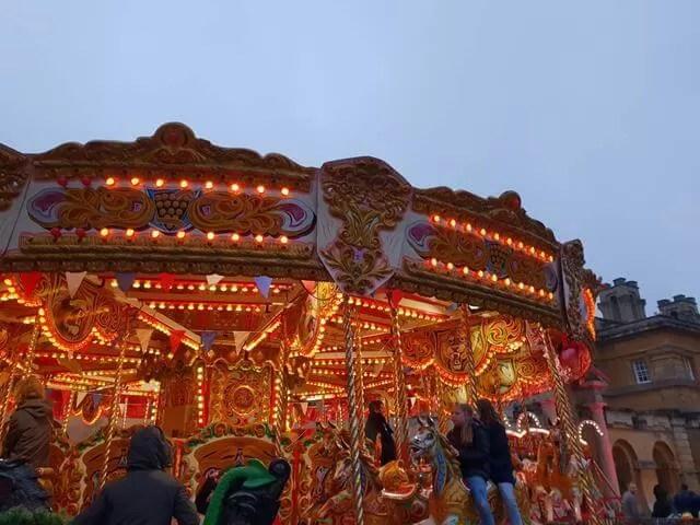 carousel at blenheim