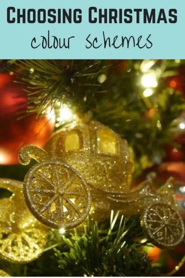 Christmas Color Schemes.Choosing A New Christmas Colour Scheme And Tree Decorations