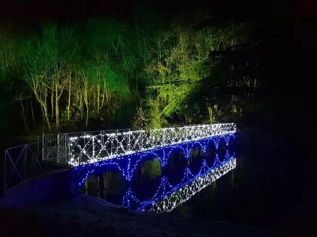 light bridge and reflection