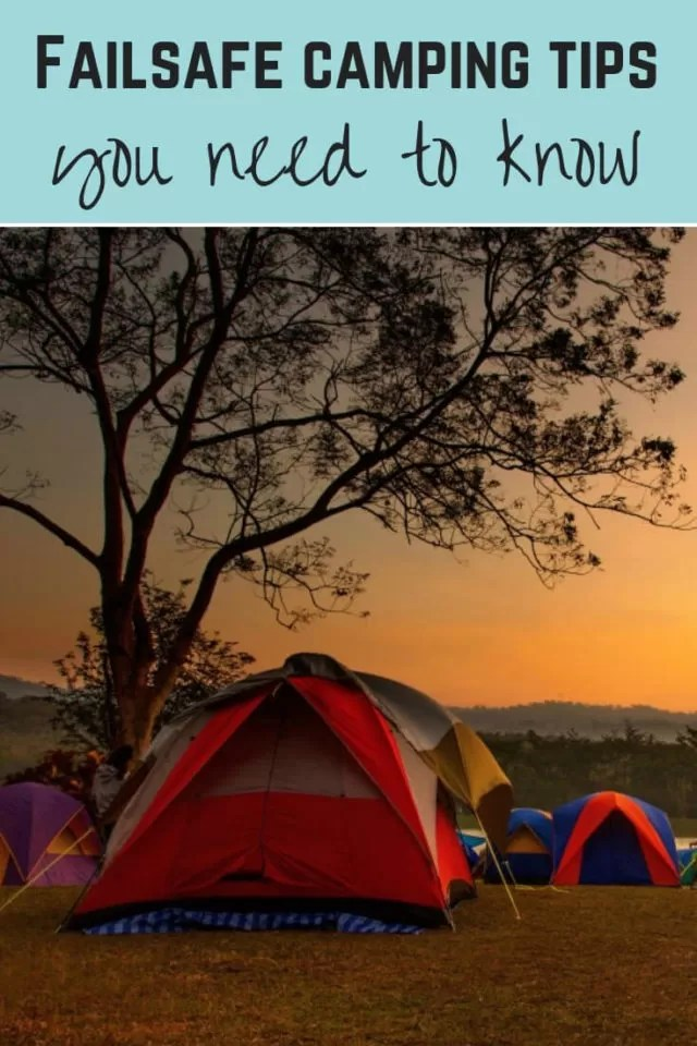 camping tips you have to know - Bubablue and me