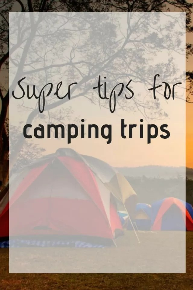 essential camping tips
