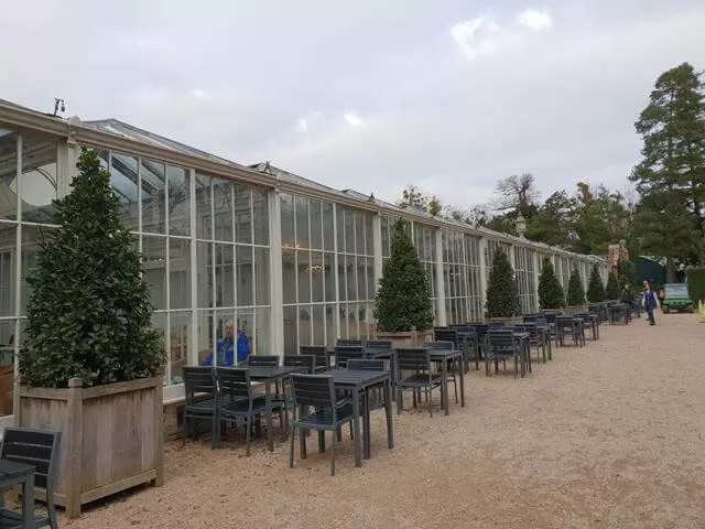 outside of the orangery restaurant at cliveden