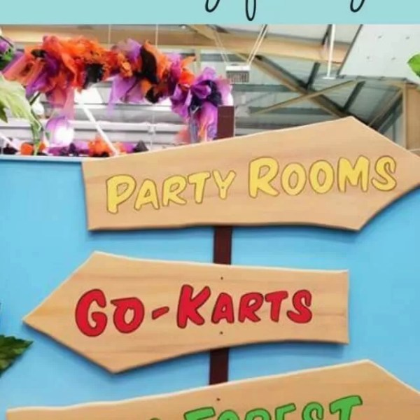 A playdate birthday party at soft play