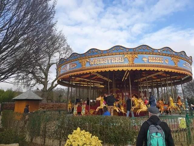 carousel at wicksteed
