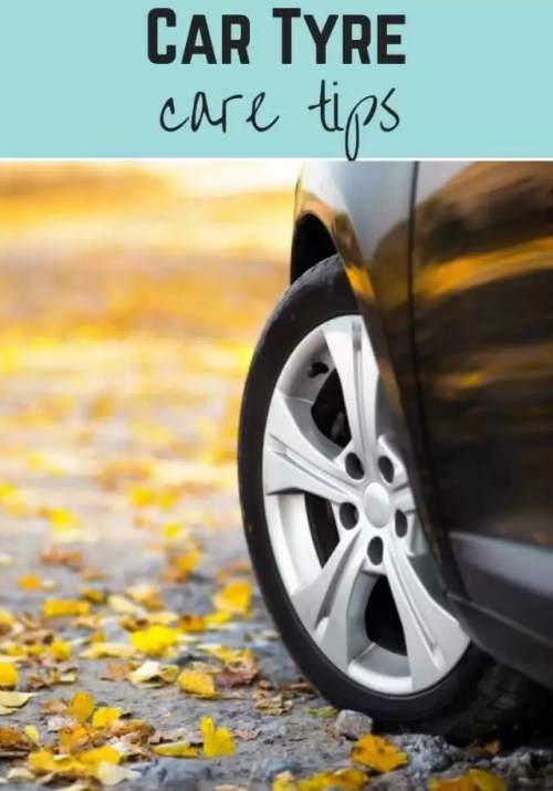 Tyre care tips - Bubbablue and me