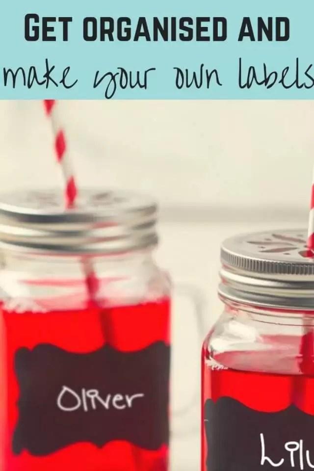 make pretty labels