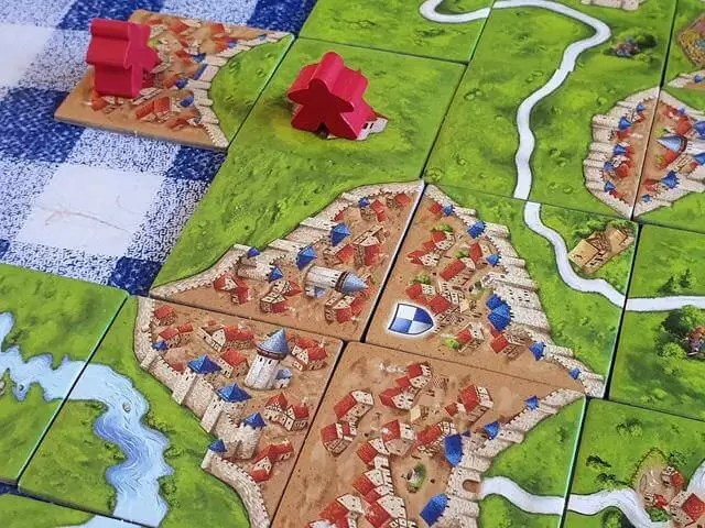matching the tiles in carcassonne