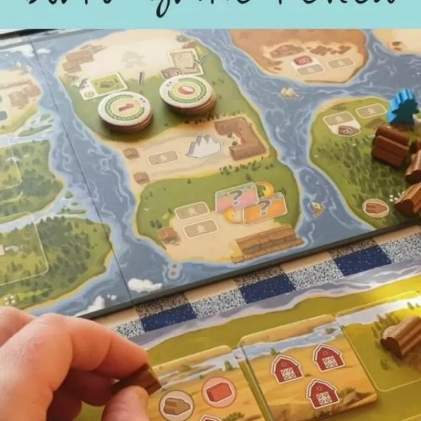The River board game – ad review