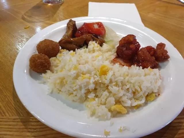 chinese food at panda mami