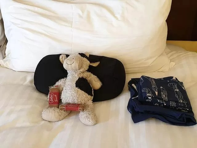 housekeeping fun with soft toys