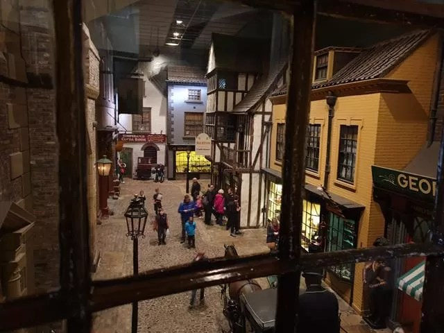 looking down onto Kirkgate