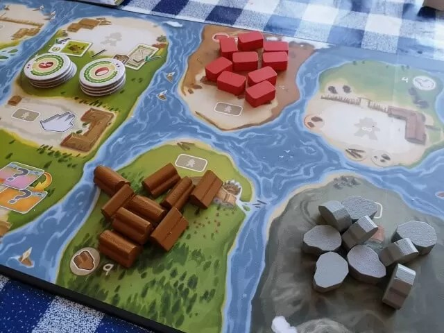 resources in The River game