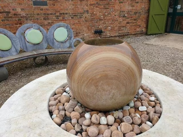 rolling water feature