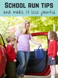 school run tips