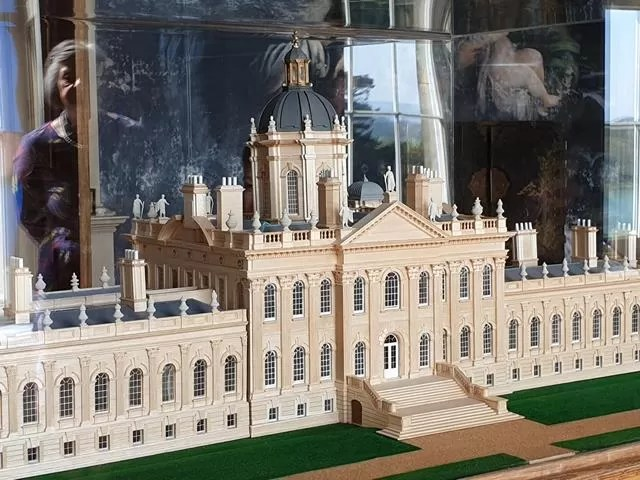 3d model of castle howard