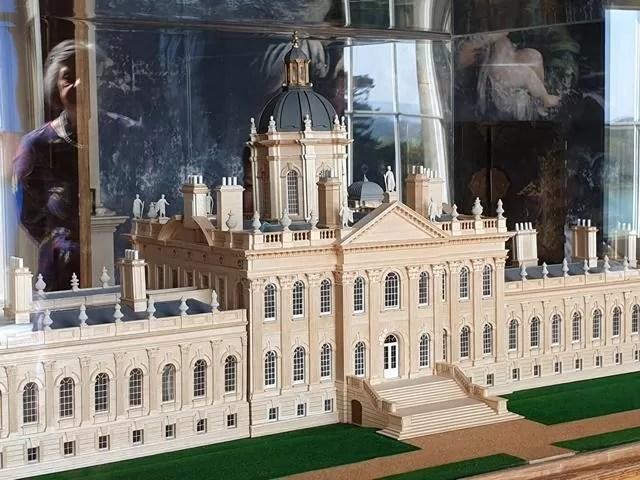 3d model of castle howard
