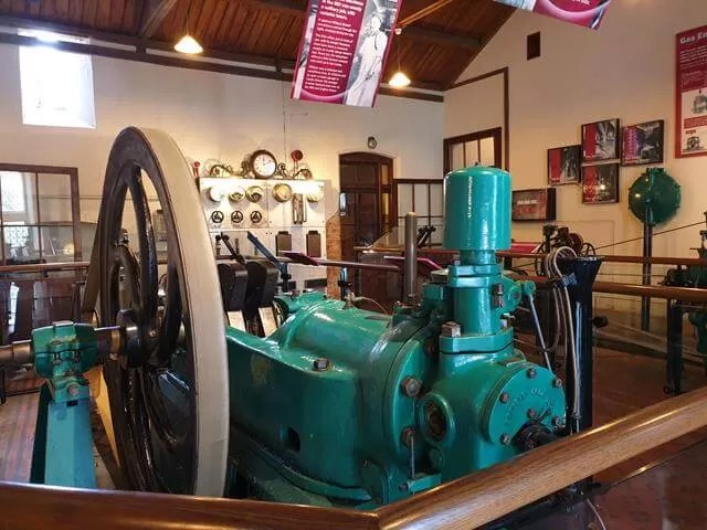 engines in the mill