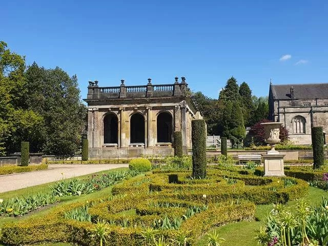 gardens and ruins