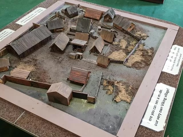 model of viking settlement