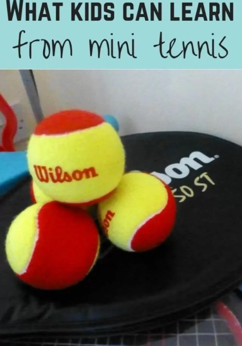 what mini tennis teaches - Bubbablue and me