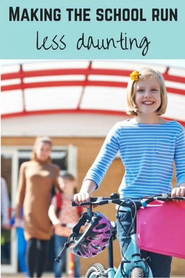 why the school run doesn't have to be daunting - Bubbablue and me