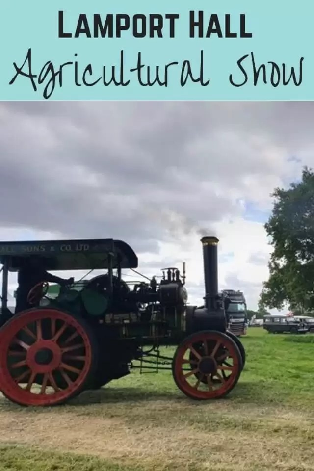 Lamport Hall agricultural show - Bubbabl