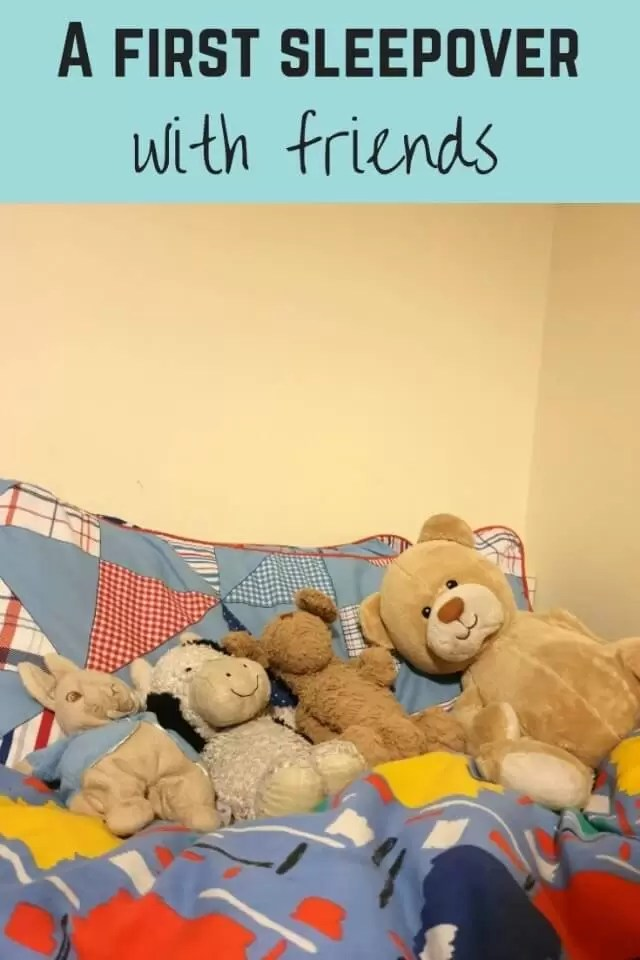 first sleepover party - Bubbablue and me