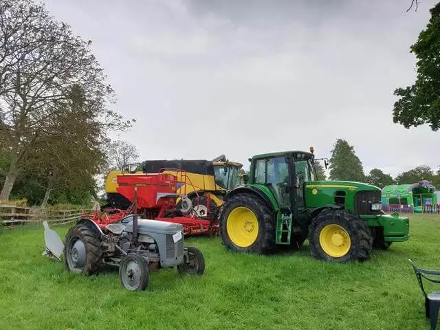 john deere tractor and others