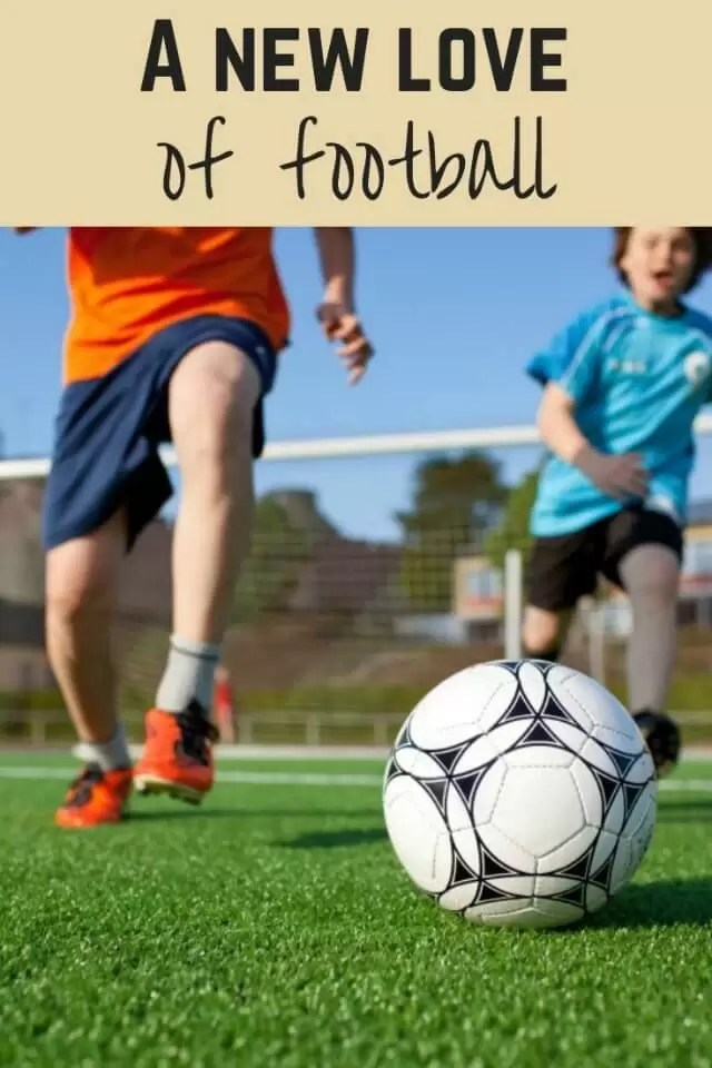 new love of football fun - Bubbablue and me