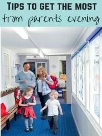 parents evening etiquette