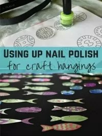 nail polish crafts