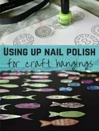nail polish crafts