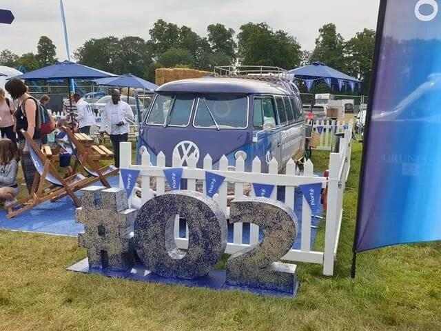 O2 campervan display