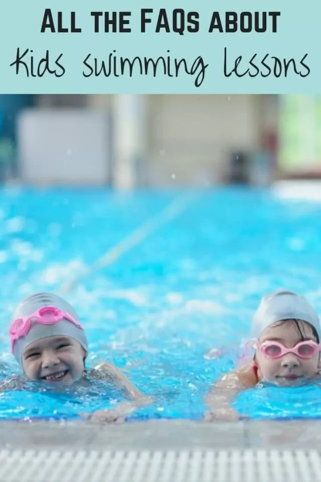 Questions about kids swimming lessons - Bubbablue and me