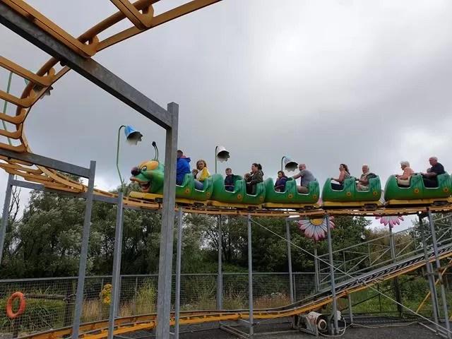 caterpillar roller coaster
