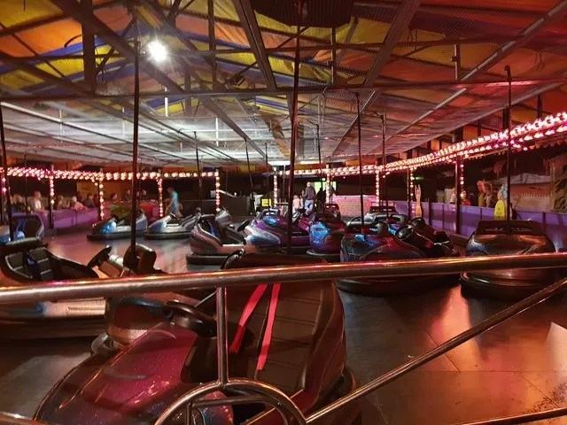 dodgems and lighting