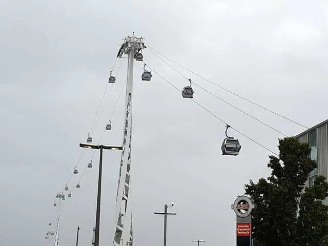 emirates air line cable cars