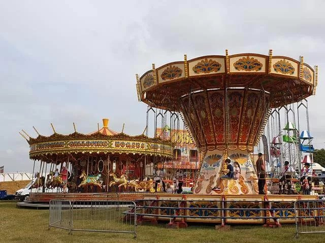 fairground rides at countryfile live