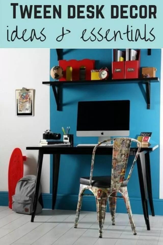 tween desk ideas