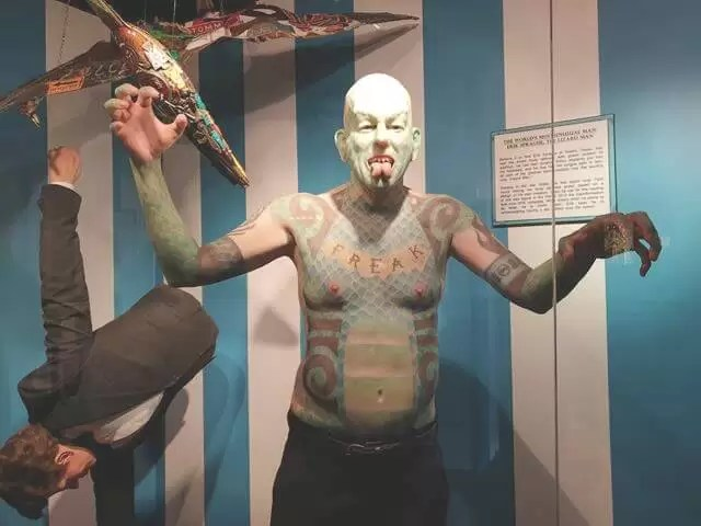 all over tattooed man