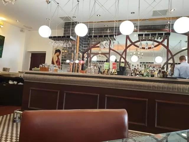 bar at low wood bay hotel