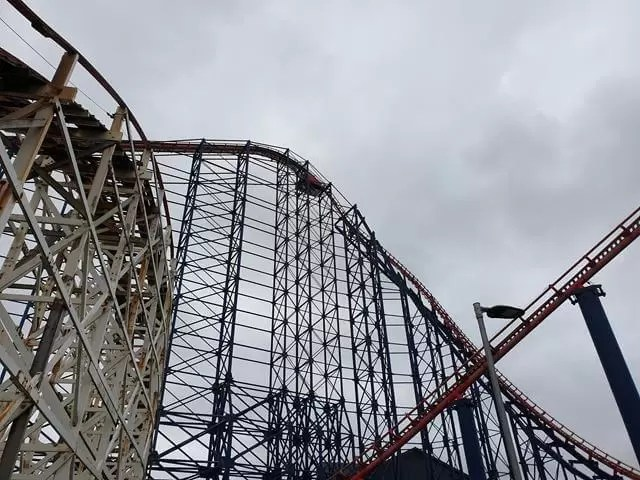 big dipper roller coaster