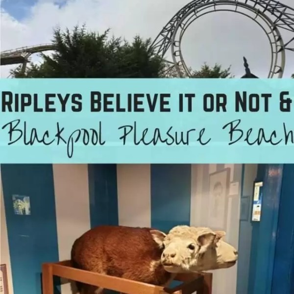 Rainy day fun at Blackpool Pleasure beach and Ripley's Believe it or Not