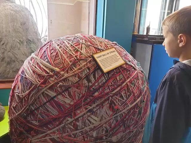 giant yarn ball