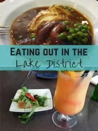 eating out in the lakes