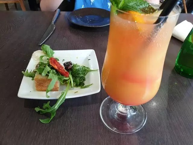 mocktail and apperitif