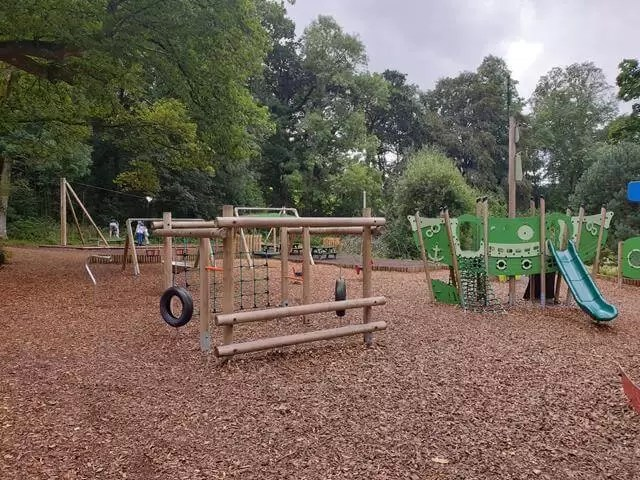 obstacles on adventure playground