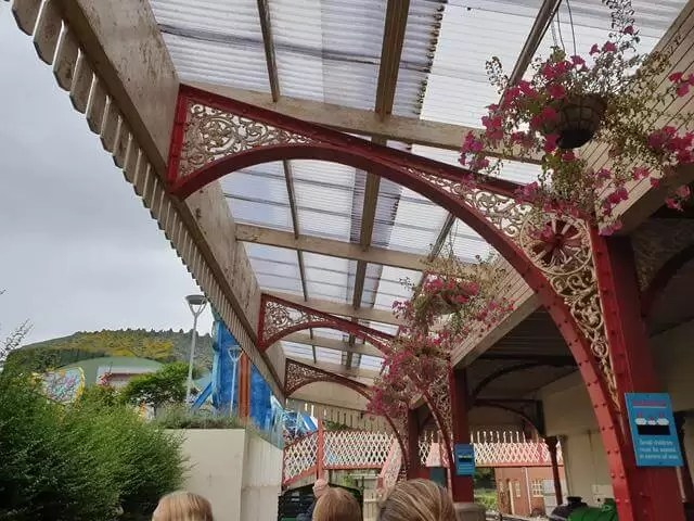 station at blackpool pleasure beach