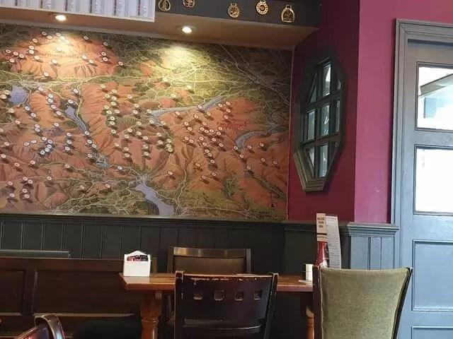 wall decor at ambleside tavern